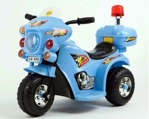 Kinderfahrzeuge 033 Polizeimotorrad Elektro Auto Kinder Elektromotorrad Kindermotorrad Polizei