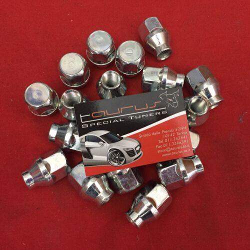 Kit 24 dadi ruota M12x1.25 M 12 x 1,25 CH 21 Conico OFF-Road Nissan