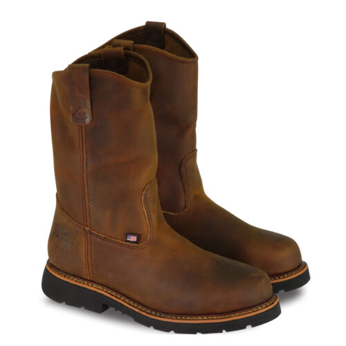 ALL SIZES THOROGOOD AMERICAN HERITAGE WELLINGTON STEEL TOE WORK BOOTS 804-3310