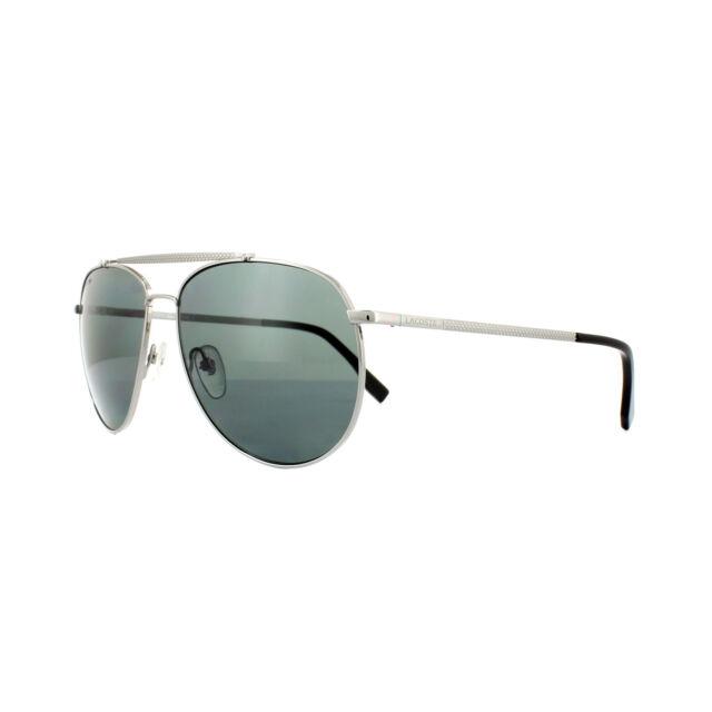00eb567e44e Lacoste Men s L177sp Polarized Aviator Sunglasses Gunmetal 59 Mm for ...