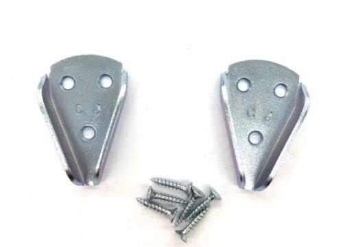 Schrankrohrlager,2 Stück Metall Durchmesser 10-25mm für Schrankrohraufhänger