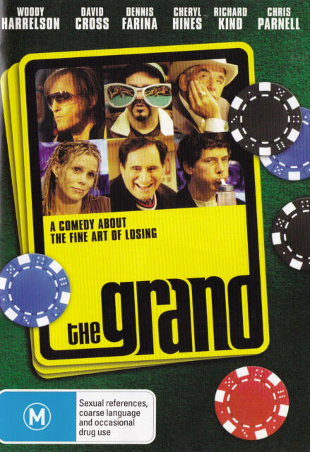 THE GRAND Woody Harrelson DVD R4 - PAL - New