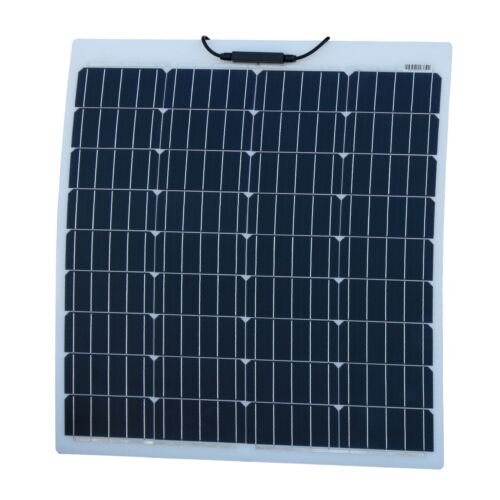 80W Reinforced semi-flexible solar panel with ETFE coating German solar cells