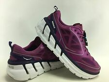 Hoka One One Women's Conquest Running shoes in Purple Grape/White Size 8