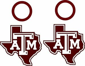 Terrific Details About Texas Am Cornhole Set Of 4 Vinyl Decals Stickers Bean Bag Toss Free Window Ibusinesslaw Wood Chair Design Ideas Ibusinesslaworg