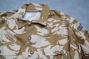 a3272ce71d3 NEW Gulf Issue British Army Desert Camo Shirt - Size 200 128 ...