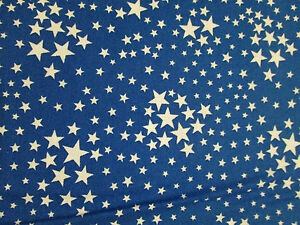 Fabric Stars Blue