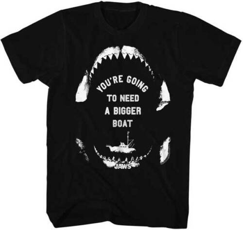 Jaws You/'re Going To Need A Bigger Boat Adult T Shirt Great Classic Movie