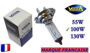 Ampoule-Halogene-VEGA-034-MAXI-034-Marque-Francaise-H7-100W-Auto-Moto-Phare-Avant
