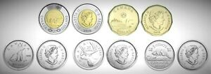 Canada-2020-Five-Coin-Toonie-Loonie-25c-10c-5c-Set-of-First-Strike-Coinage