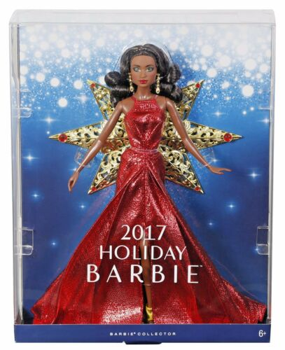 BARBIE HOLIDAY NIKKI Ethnic Christmas 2017 DOLL DYX40 mint in box Mattel dealers