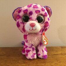 "Ty Beanie Boos Glamour The Leopard 6"" NWT ~Glitter Eyes~"