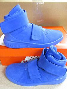 Nike marxman PRM da Uomo Hi Top Basket Formatori 832766 400 Scarpe Da Ginnastica Tg UK 8