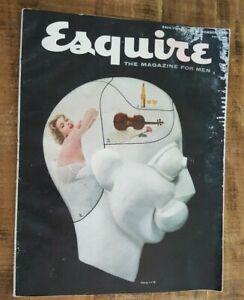 VINTAGE-ESQUIRE-The-Magazine-For-Men-September-1954-Volume-XLII-No-3