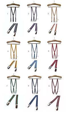 Preppy Skinny Thin Braces Suspenders,Unisex Made in Japan EMO,Mod