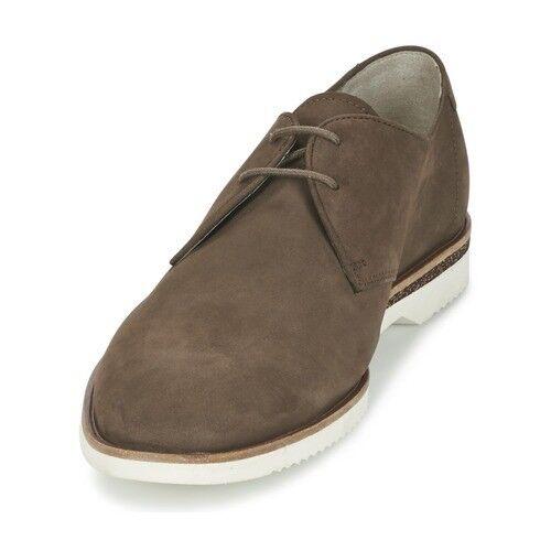 Clarks  Uomo Braun Nubuck Leder Tulik UK Free Lace Up Schuhes, UK Tulik 7 EU 41, b72285