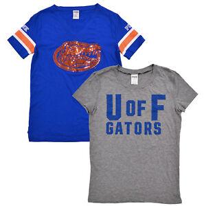 Victoria-039-s-Secret-Pink-T-Shirt-University-Of-Florida-Gators-Uf-Graphic-Tee-New