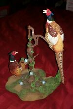 Danbury Mint Pheasant SUMMER CALL FIGURINE SCULPTURE BY Nick Bibby ONLY 1 LISTED