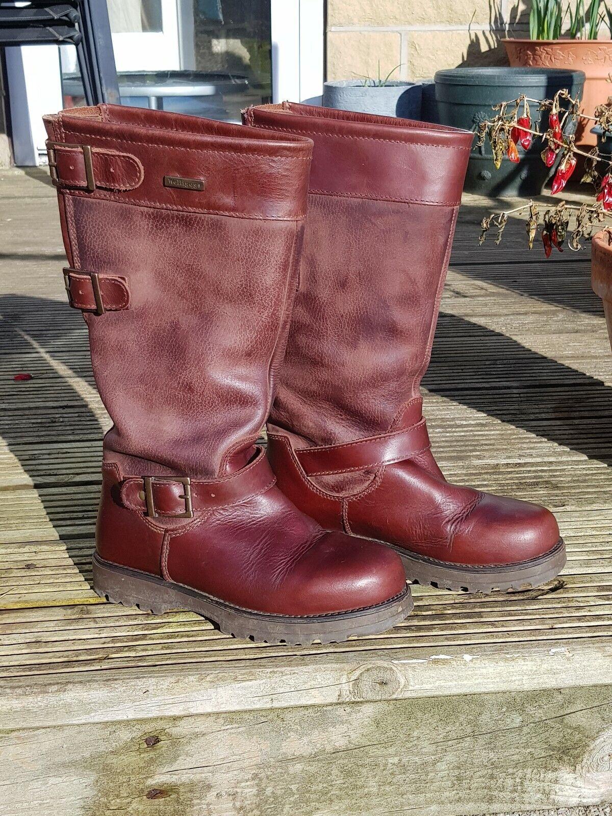 botas Impermeables De  País marrón Ranger WELLIGOGS tamaño de Reino Unido 4 EUR Talla 37  tomamos a los clientes como nuestro dios