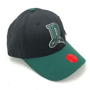 Dayton-Dragons-Outdoor-Cap-Hat-Youth-Size-Strapback-Curved-Brim-Logo-Green-D