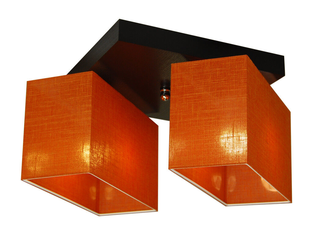 Plafoniera Con Lampada A Vista : Plafoniera lampada da soffitto jls ord soggiorno