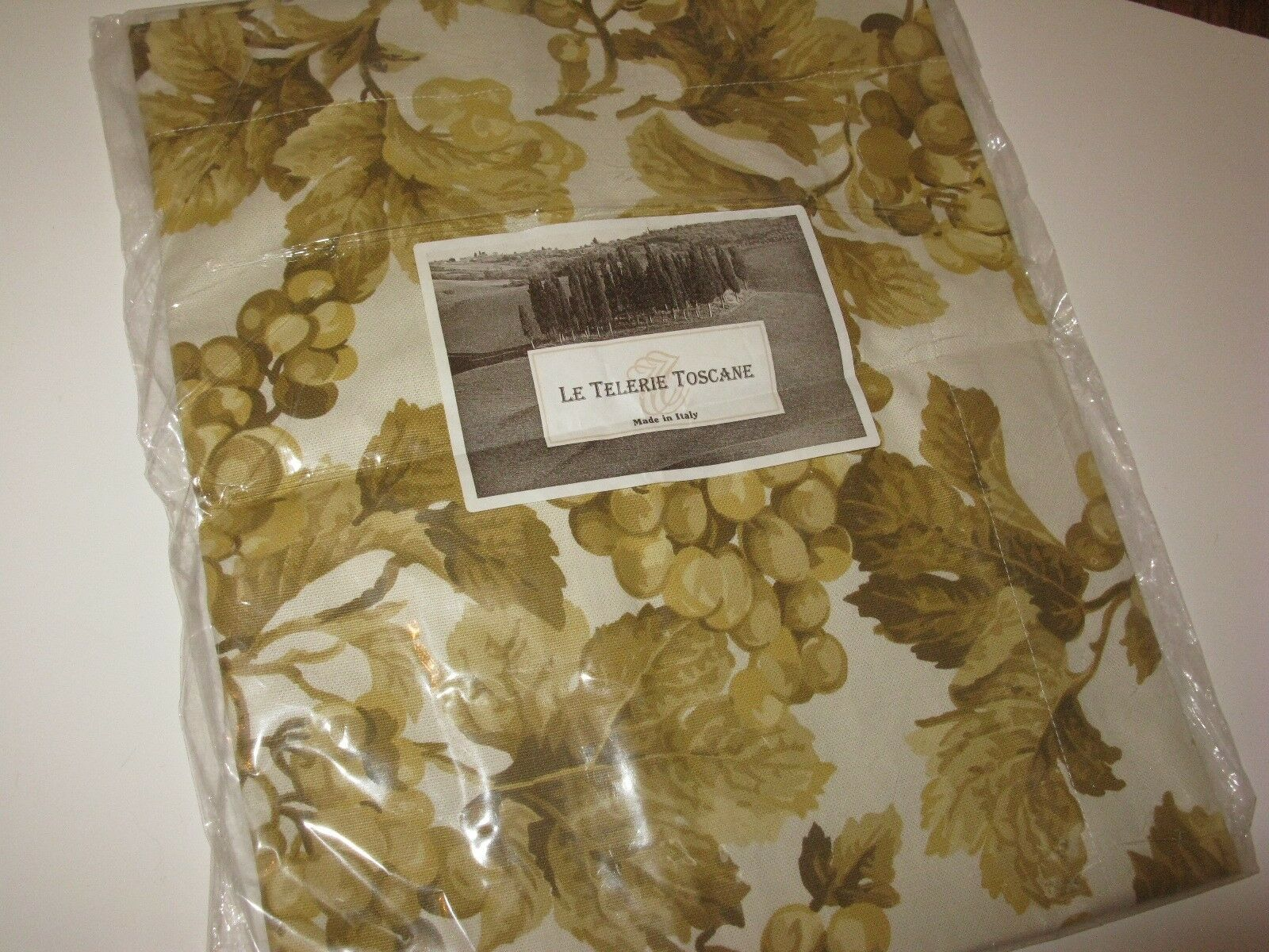 Le Telerie Toscane SAUVIGNON Grapevine or Table Runner  NIP
