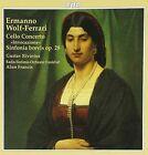 """Ermanno Wolf-Ferrari: Cello Concerto """"Invocazione""""; Sinfonia brevis Op. 28 (CD, Sep-1996, CPO)"""