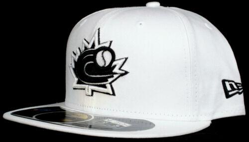 World Baseball Classic Team Canada 59Fifty New Era Fitted Hat Black White Grey