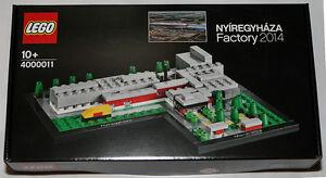 NEW LEGO Nyíregyháza Factory Set 4000011 Sealed Rare 2014 US SELLER Nyiregyhaza