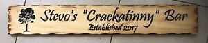 Personalised-MADE-TO-ORDER-Rustic-Pine-Timber-Sign-900mm-x-140mm