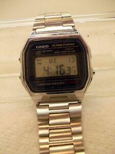fd2346228 VINTAGE,1980'S,CASIO QUARTZ DIGITAL,LCD WATCH,593-A158W.ORIG.CASIO ...