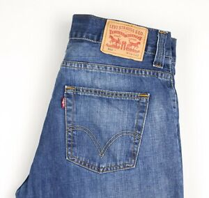Levi's Strauss & Co Herren 506 Gerades Bein Jeans Größe W34 L32 AVZ272