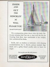 1954 Print Ad The Hinckley 36 Sail Boat Southwest Harbor,Maine