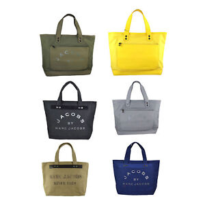 062ca9e519e18 Image is loading NEW-Authentic-Marc-by-Marc-Jacobs-Canvas-Shopper-