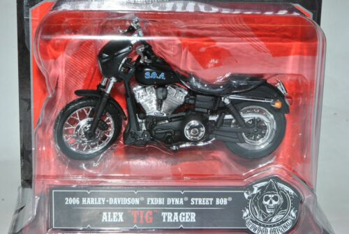 Harley Davidson 2006 fxdbi Dyna Street Bob alex Tig Trager blister Sons of anarc