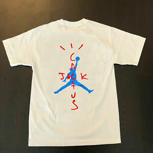 Astroworld Merch Cactus Jack T Shirt Jordan Chicago Bulls Gildan Shirt Reprint Ebay