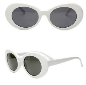 ff5d2f8534ff Image is loading White-Clout-Goggles-Glasses-Vintage-Classic-Kurt-Cobain-