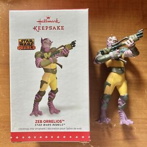 #QXI2577 Star Wars Rebels Hallmark Keepsake Ornament 2015 Zeb Orrelios