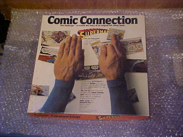 VINTAGE 1979 SUPERMAN COMIC CONNECTION GAME RARE