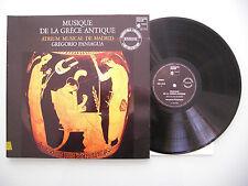 Gregorio Paniagua - Musique De La Grece,,Audiophile  Press,Vinyl: m-