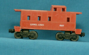 O-Scale-Vintage-Lionel-Caboose-with-Decoupler-See-Description-for-Test