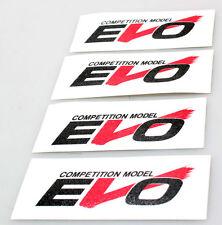 "Desmond Regamaster EVO Decal 17"" Set of 4 Exact Spoke Stickers for WHITE Rim"