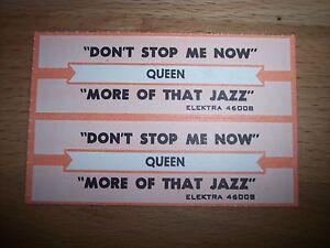 "2 Bon Jovi Runaway She Don/'t Know Me Jukebox Title Strip CD 7/"" 45RPM Records"