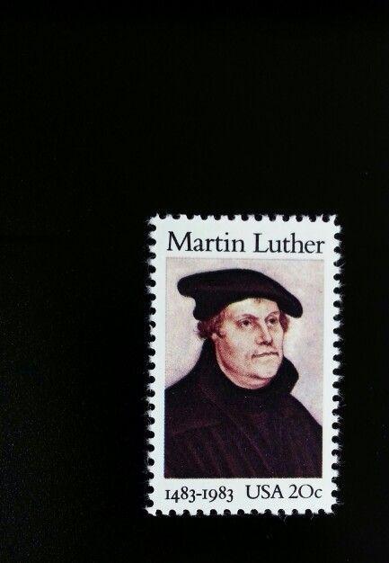 1983 20c Martin Luther, Protestant Reformation Scott 20
