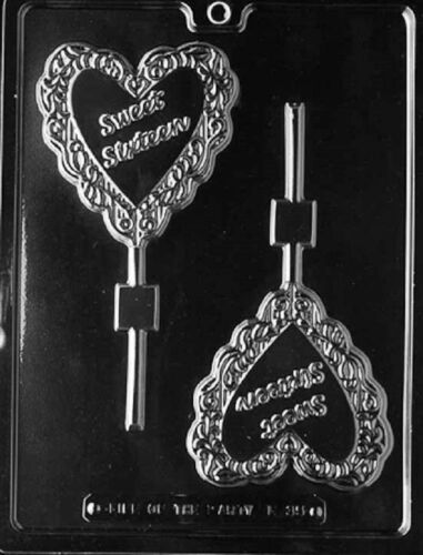 L035 Sweet Sixteen 16th Birthday Lollipop Chocolate Candy Soap Mold