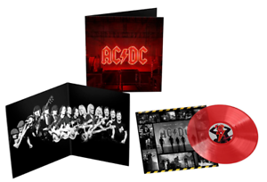 AC/DC - Power up Limited Edition Transparent Red Vinyl LP PWR UP NEU