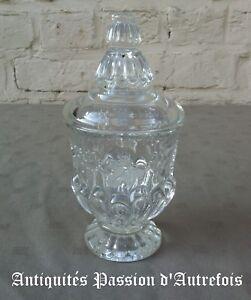 SéRieux B2017939 - Très Beau Pot Couvert En Verre - Très Bon état Marchandises De Proximité