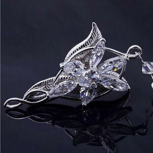 Lord of the rings arwen evenstar pendant necklace silver plated image is loading lord of the rings arwen 039 evenstar pendant aloadofball Choice Image