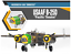 Academy-1-48-USAAF-B-25D-Pacific-Theatre-Aircraft-Bomber-Pla-model-kit-12328 thumbnail 6
