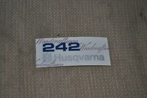 non-OEM Husqvarna 272 XP TOP COVER sticker decal